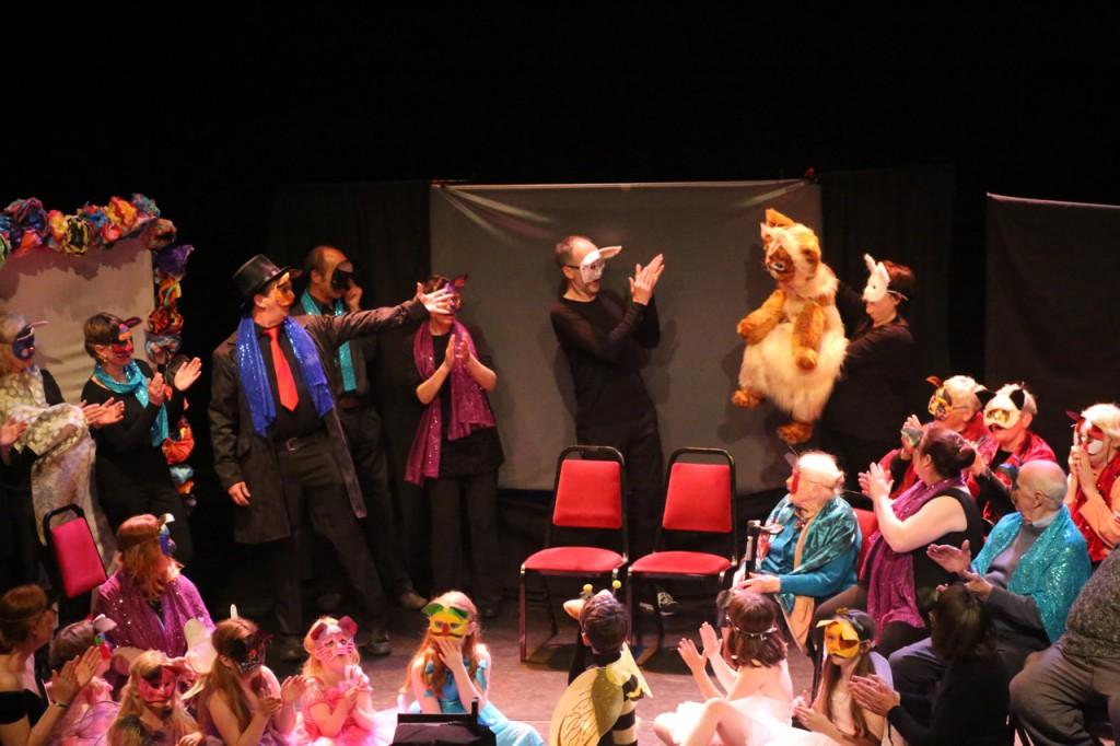 Nine Lives community show with Rudolph the cat