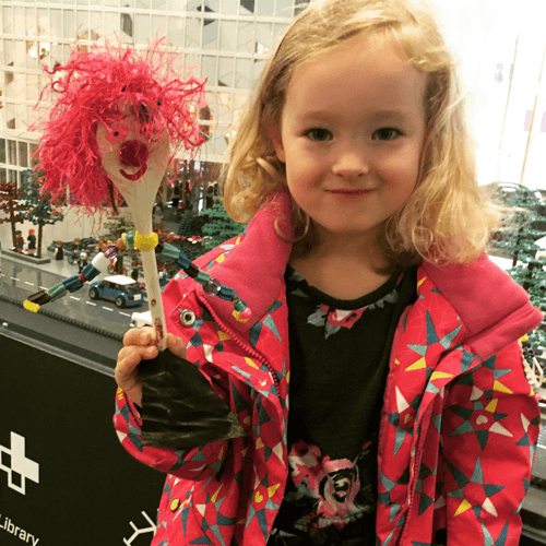 October: Spoon Puppets for Canada 150
