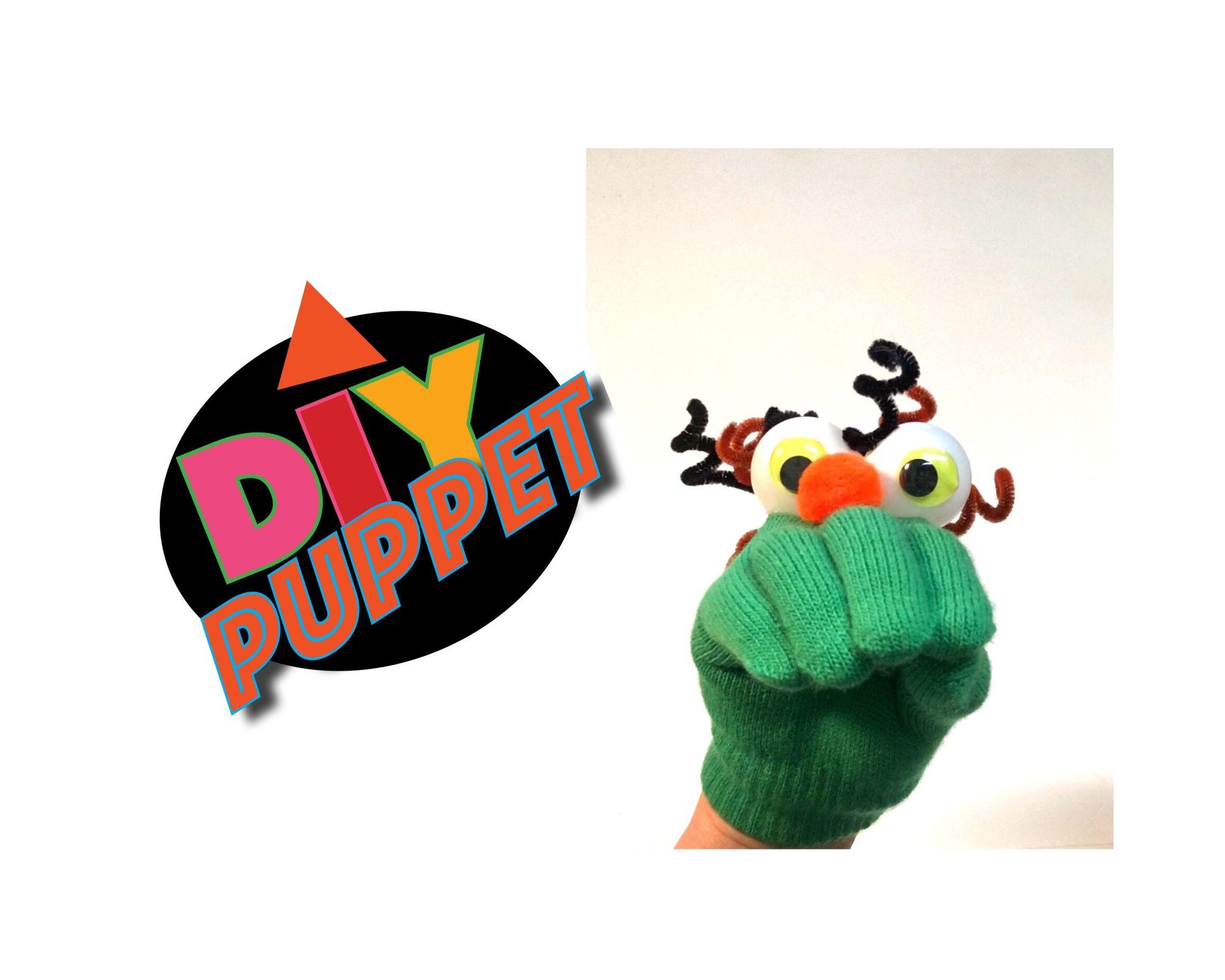 DIY Eyeball Glove Puppet