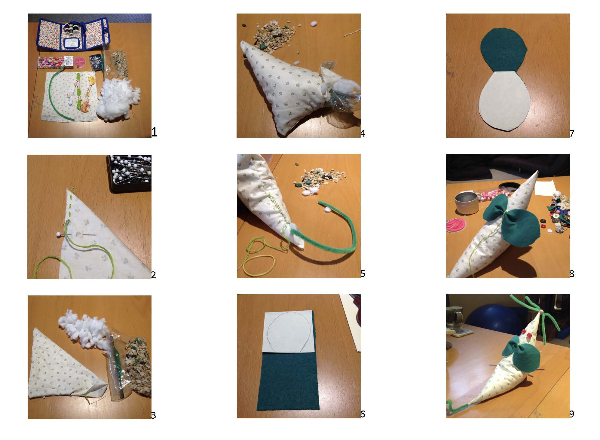 DIY Mouse Puppet Visual