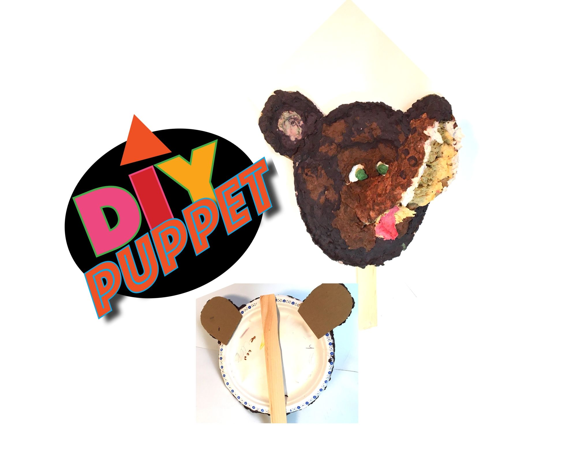 DIY Pulp Paper Bear
