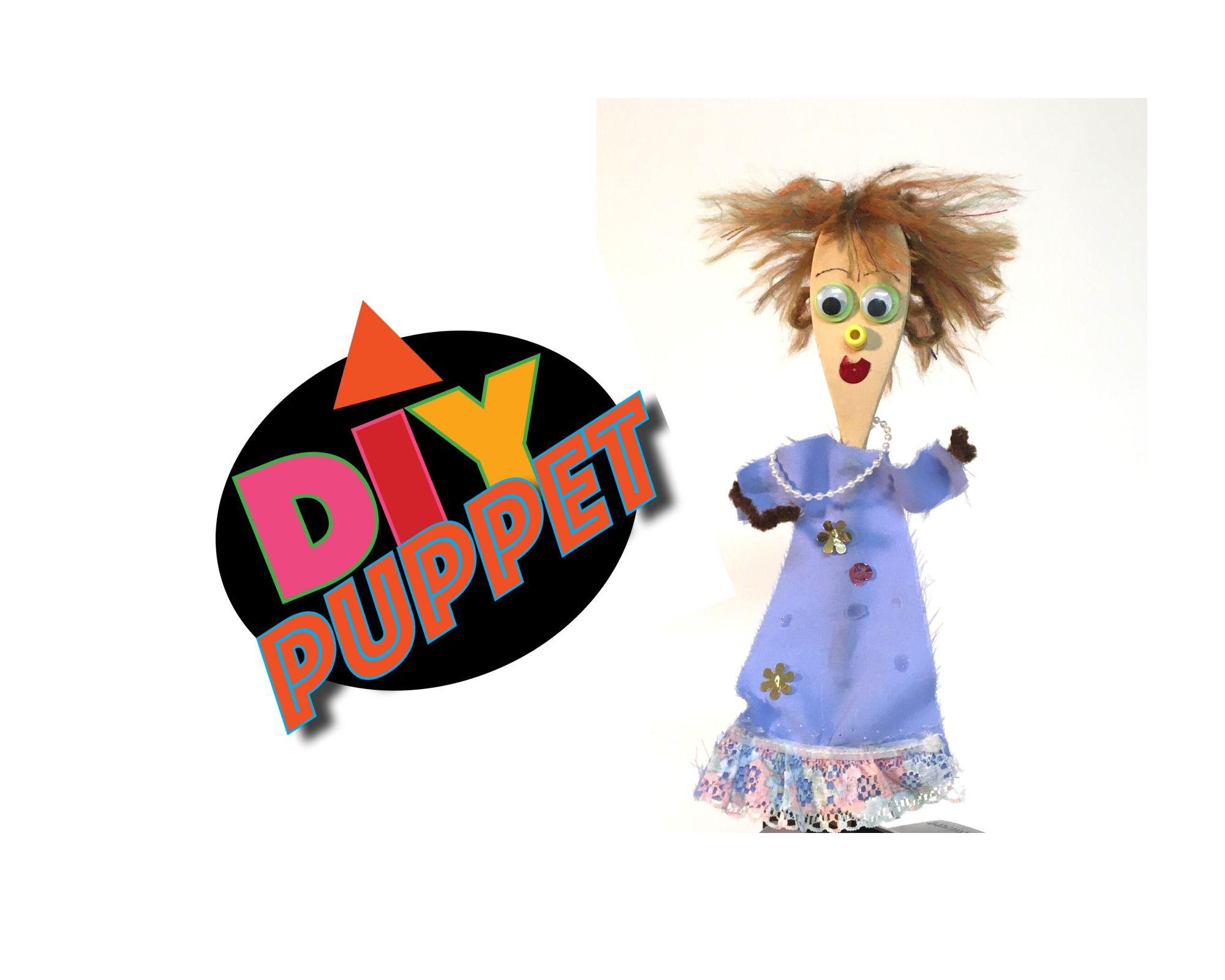 DIY Spoon Puppet