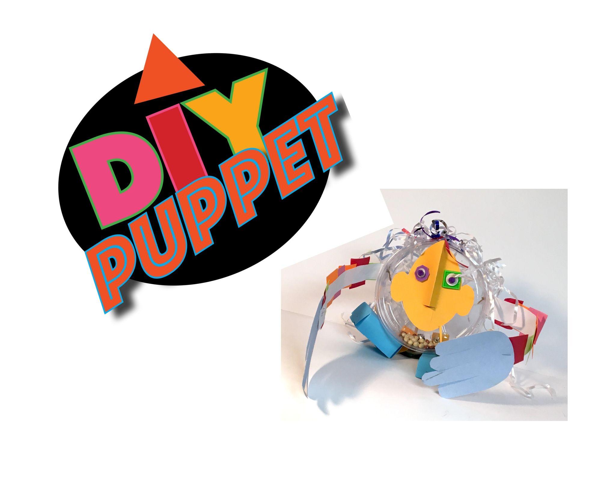 DIY Tintamarre puppet