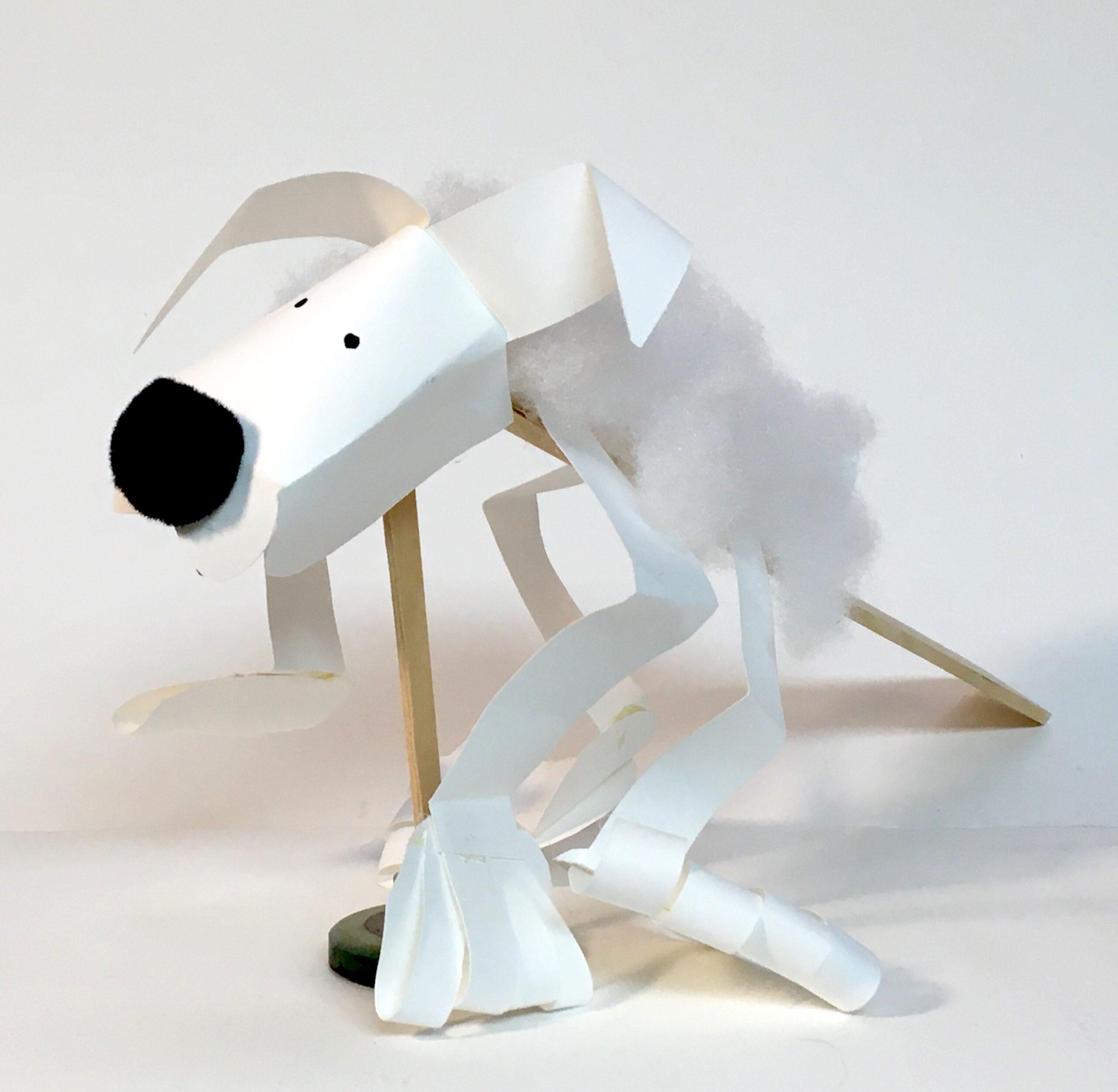 DIY Dog-ish puppet