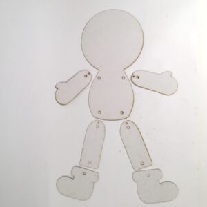 Jumping People Puppet
