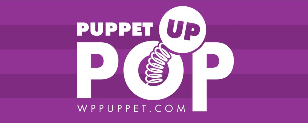 Puppet Pop Up Purple Logo PPU WP Puppet Theatre