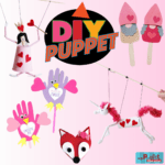 5 Valentine Puppet Kids Crafts