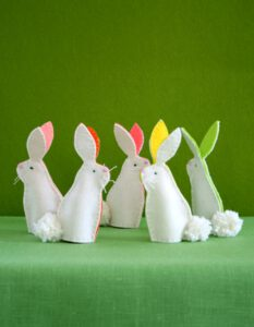 Bunny Finger Puppets Easter