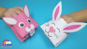 Bunny Paper Hand Puppet Craft